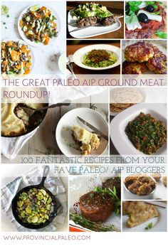 The Great Paleo AIP Ground Meat Roundup!