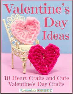 10 Valentines Heart Crafts- FREE ebook! From Suzy!