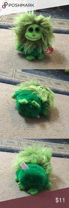 Ty scoops Adorable green beanie boo! ❤️ perfect condition and new...NWT! Troll thingy - Frizzys ty Accessories