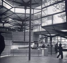 Spanish pavilion | Expo 1958, Brussels | Corrales y Molezún