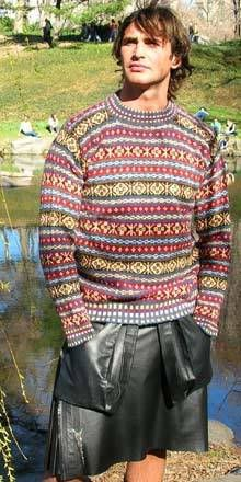 Mens Fair Isle Sweater Knitting Patterns : 1000+ images about Kilts and Accessories on Pinterest Kilts, Men in kilts a...