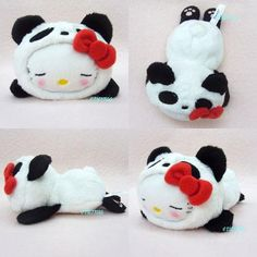 Hello Kitty Panda Floppy Sleeping Plush | Flickr - Photo Sharing! Mickey Mouse Parties, Mickey Mouse Clubhouse, Mickey Mouse Birthday, Toy Story Birthday, Toy Story Party, Hello Panda, Hello Kitty Characters, Hello Kitty Images, Hello Kitty Collection
