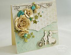 Odskocznia vairatki: Kwiaty z papieru morwowego... Wedding Cards, Decorative Boxes, Scrapbooking, Handmade, Paper, Wedding Ecards, Hand Made, Scrapbooks, Decorative Storage Boxes