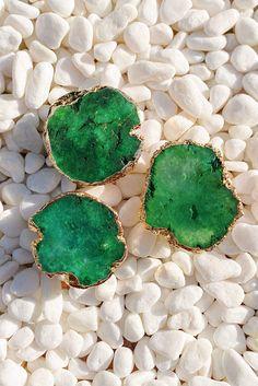 Green Druzy