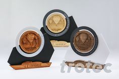 Make a three-dimensional winners' trophy using Trotec materials and relief laser engraving. Free DIY instructions with recommended laser parameters for your Trotec laser. Free Vectors, Vector Free Download, Free Vector Art, Trotec Laser, Acrylic Glue, Gravure Laser, Laser Machine, Relief, Engraved Rings