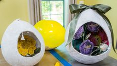 Start decorating for Easter & try making @kennethwingard's Plaster Eggs! Catch #homeandfamily weekdays at 10/9c on Hallmark Channel!