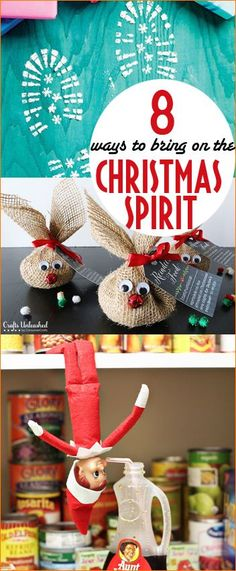 9 Ways to Share Christmas Spirit.  Bring back the magic of Christmas with these fun ideas.