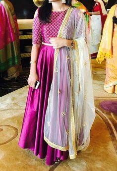 Indian Designer Anarkali Party Wear Floor Length Net Anarkali Suit for EID wear Indian Gowns, Indian Attire, Pakistani Dresses, Indian Outfits, Eid Dresses, Anarkali Dress, Red Lehenga, Lehenga Choli, Anarkali Suits