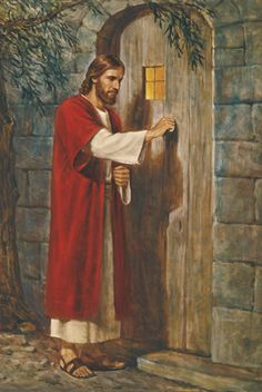 Jesus klopft an, öffnen müssen wir. Lässt du ihn herein?
