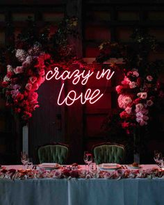 Trend Alert: Light Up Your Love With These Neon Signs - Modern Wedding