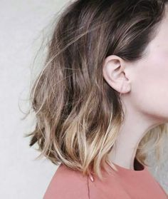 35 Balayage Styles For Short Hair - Frauen Frisuren Ombré Hair, New Hair, Wavy Hair, Ombre Bob Hair, Pretty Hairstyles, Bob Hairstyles, Bob Haircuts, Hairstyle Ideas, Wedding Hairstyles