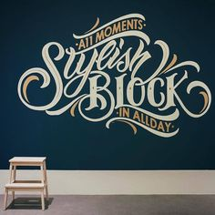 I'll be honest, I don't fully understand the sentiment in this mural but it looks great. Type by @kingsonartworks | #typegang - typegang.com