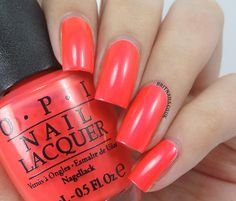 OPI Neons 2014 - Down To The Core-Al
