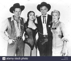 Lloyd Bridges, Katy Jurado, Gary Cooper And Grace Kelly / High Noon Stock Photo, Royalty Free Image: 89007313 - Alamy