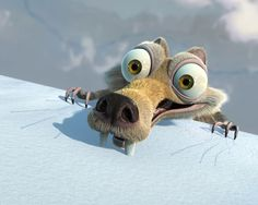 Scrat and all the Ice Age movies