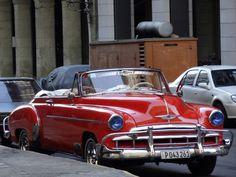 A classic Chevy in Havana. Photo taken by Brian Kaylor during a trip for the COEBAC's 40th anniversary celebration at Iglesia Bautista Enmanuel (Emmanuel Baptist Church) in Ciego de Ávila, Cuba.