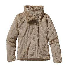 Patagonia Womens Pelage Fleece Jacket. El Cap Khaki
