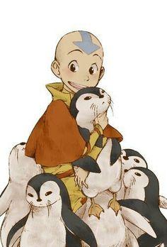 Aang!!! #aang #avatar #theladtairbender