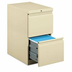 HON COMPANY 33823RL Efficiencies Mobile Pedestal File W/two File Drawers 22-7/8d Putty by Hon. $373.71. Mobile pedestal with R-pull design fits under standard HON Initiate 38000 Series and work surfaces. File drawers have one follower block one crossrail high sides for filing front-to-back and ball-bearing suspension with 90 percent extension. Pedestal is equipped with HON One Key interchangeable core removable locks. Front casters are fixed and rear casters swivel. Co...