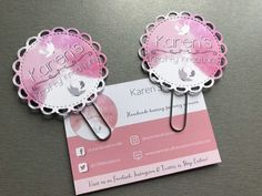 Logo Paper Clips, Planner Clips, bookmarks, pack of 2 £3.50
