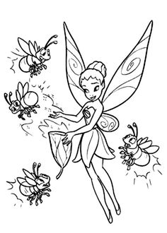 Disney Fairy Rosetta Coloring Pages | Tinkerbell coloring pages ... | 330x236