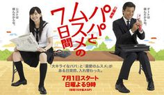 PAPA TO MUSUME NO NANOKAKAN / SEVEN DAYS OF A DADDY AND A DAUGHTER (2007) - Comedy - Family - Romance - School