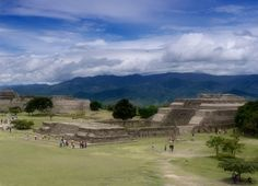 Monte Alban by Peter Babilotte