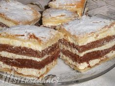 Kipróbált Diplomatakrémes recept egyenesen a Receptneked. Hungarian Desserts, Hungarian Recipes, Turkish Recipes, Ethnic Recipes, Cake Cookies, Nutella, Tiramisu, Oreo, Food And Drink
