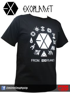 EXO Planet 100% algodón