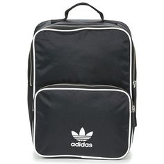 Bolsos Mochila adidas Originals CLASSIC ADICOLOR BP Negro Mochila Adidas, Adidas Originals, Textiles, Classic Mini, Fashion Bags, Backpacks, Clothes, Random, Templates