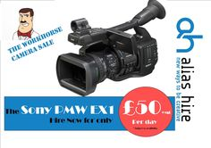 The Sony PMW EX1 available to hire