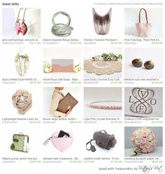 Bandie Girl's pink crystal bracelet is included in this lovely Etsy gift guide.