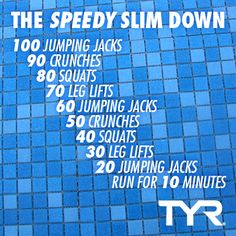 The first day of spring is TOMORROW! Try this super quick and easy workout to tone up for the new season!