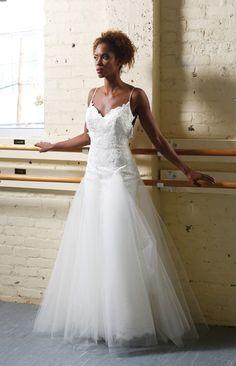 Twirling in Tulle-Coastal Virginia Bride Tara Keely Alexis alencon lace sheath bridal gown from pure english la promenade shoppes virginia beach