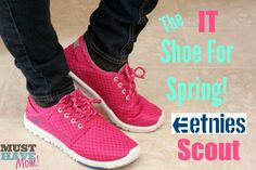 Etnies Scout Review for Women   Kids + etnies coupon and giveaway 3513eadb74