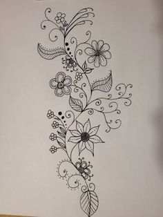 Image result for doodles flowers