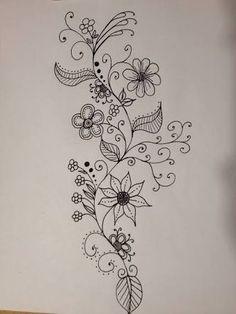 Resultado de imagen para doodles flowers