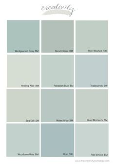 Blue Gray Paint Colors, Blue Green Paints, Paint Colors For Home, Gray Color, House Colors, Benjamin Moore Green Gray, Benjamin Moore Wedgewood Gray, Benjamin Moore Paint, Blue Green Bedrooms