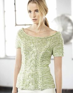 Lana Grossa RAGLANPULLI Organico/California - LINEA PURA No. 7 - Modell 15 | FILATI.cc WebShop