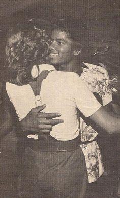 Michael Jackson and Tatum O'Neal :) - Cuteness in black and white ღ by ⊰@carlamartinsmj⊱