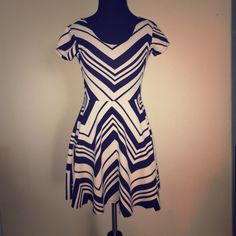 Chevron pattern dress only worn once. Chevron pattern dress only worn once. Dresses