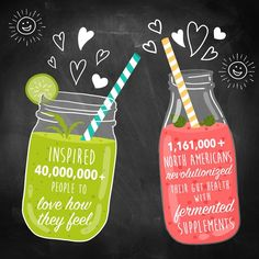 We took a look back at 2016 and all that it brought - Cheers to a great year! . We inspired over 40,000,000+ people with our #LOVEHOWYOUFEEL messaging • 1,161,000+ North Americans revolutionized their gut health with fermented supplements • 267,000+ people increased their pH, energy and vitality and antioxidants with greens+ • 1,317,000+ workouts powered naturally • 75,000+ people have experienced natural joy through supplementation • 1,960,000+ North Americans sought their best health and…