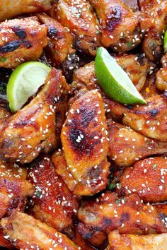 Sweet and Spicy Sriracha Baked Chicken Wings