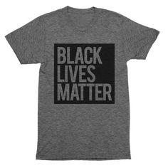 Blvck Supply | Black Lives Matter Grey Unisex T-Shirt