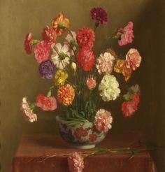Carnations. Artist: Thomas Cooper Gotch