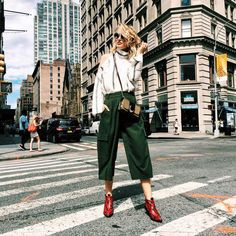 14 Street Style Looks from Fashion Week to Rock at Work | Brit + Co