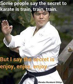 @Regrann from @bryankenpo -  Enjoy your Martial Arts Journey!  #Regrann #KarateDo #NotasParaCrecer #ebsTrainner