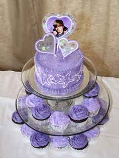 Party Cakes: Justin Bieber Cake