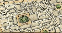 Grosvenor Square in the Regency and Jane Austen and Ghosts