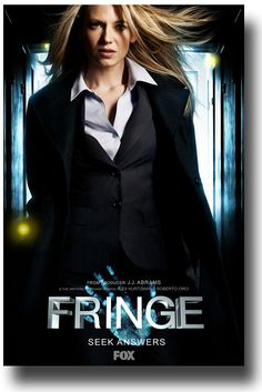 "Fringe TV show poster #fringe Anna Torv #AnnaTorv ""When the time comes give him the keys and save the girl."" I miss fringe.. ""Nobody is supposed to know exactly what someone else is thinking.."" —	 Fringe"